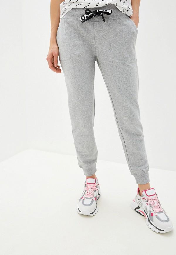 женские спортивные спортивные брюки dkny, серые
