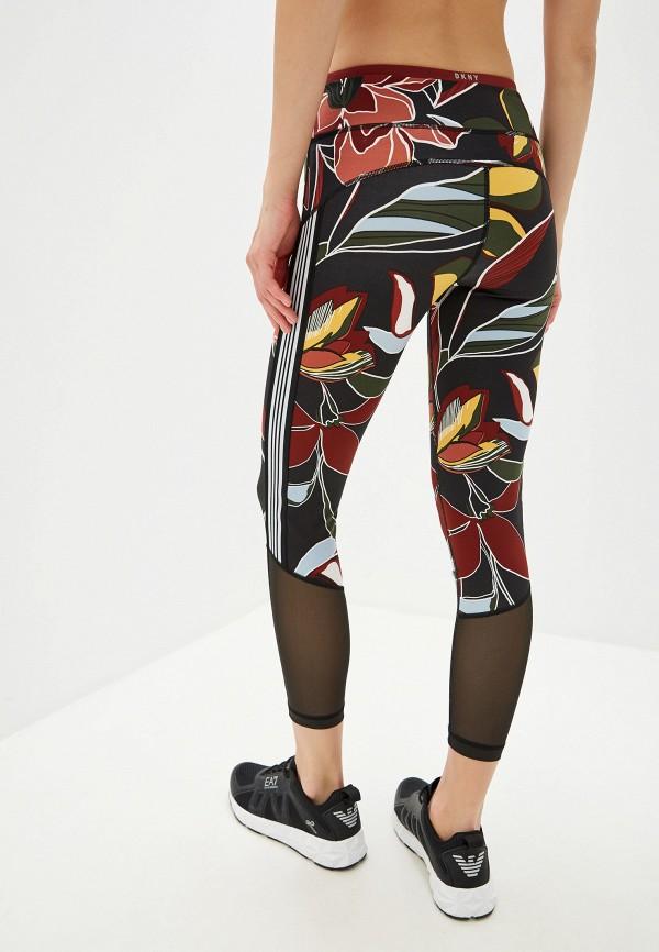 Фото 3 - женские леггинсы DKNY разноцветного цвета