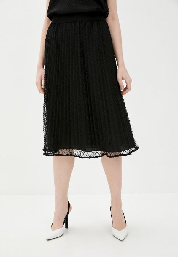 женская юбка dkny, черная