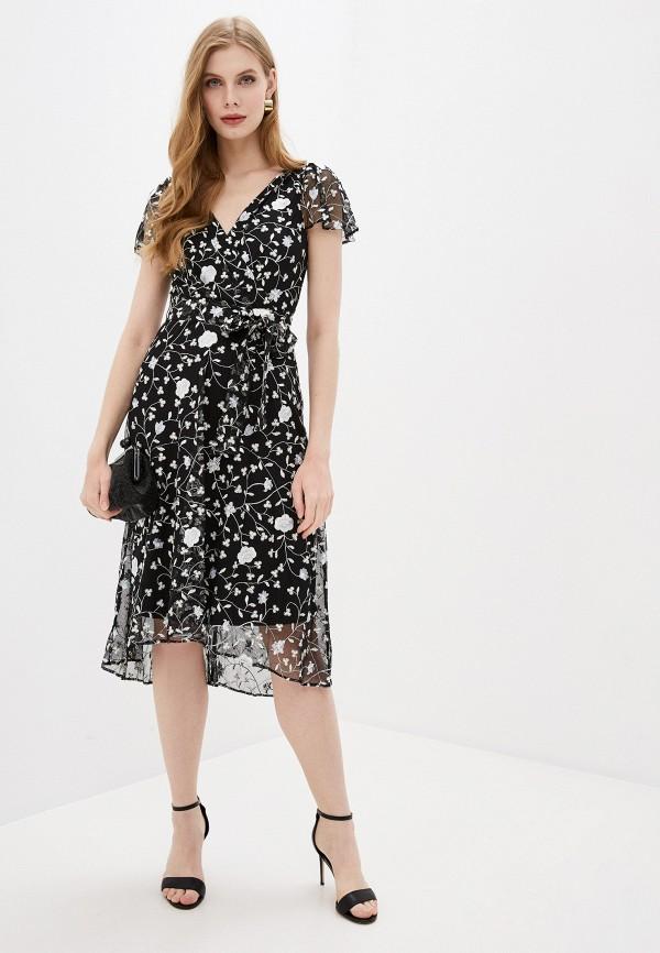 женское вечерние платье dkny, черное