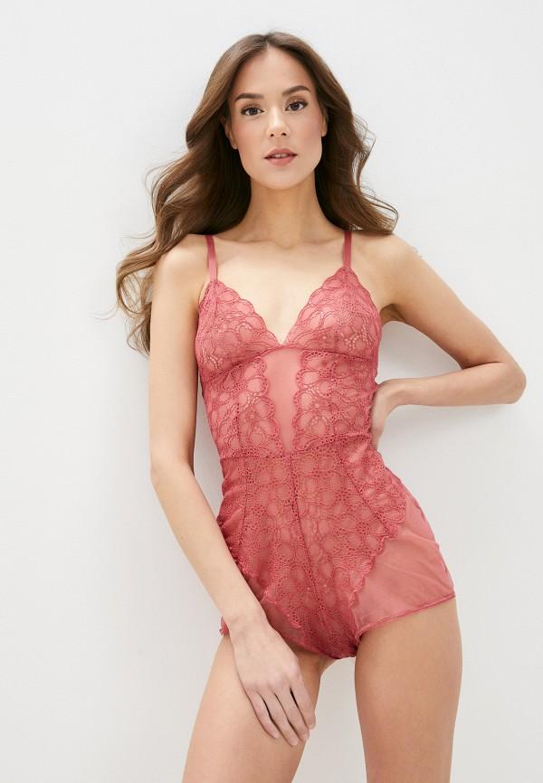 женские боди dkny, розовые