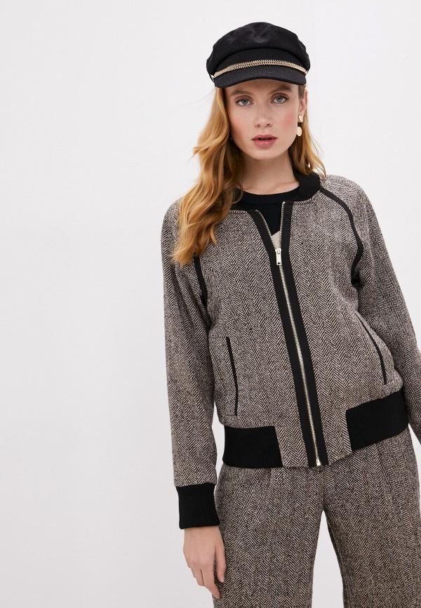 женская куртка dkny, бежевая