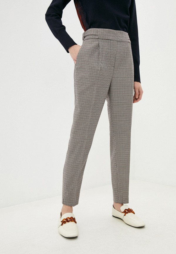 женские классические брюки dkny, бежевые