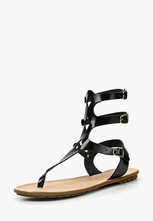 женские сандалии d.moro, черные
