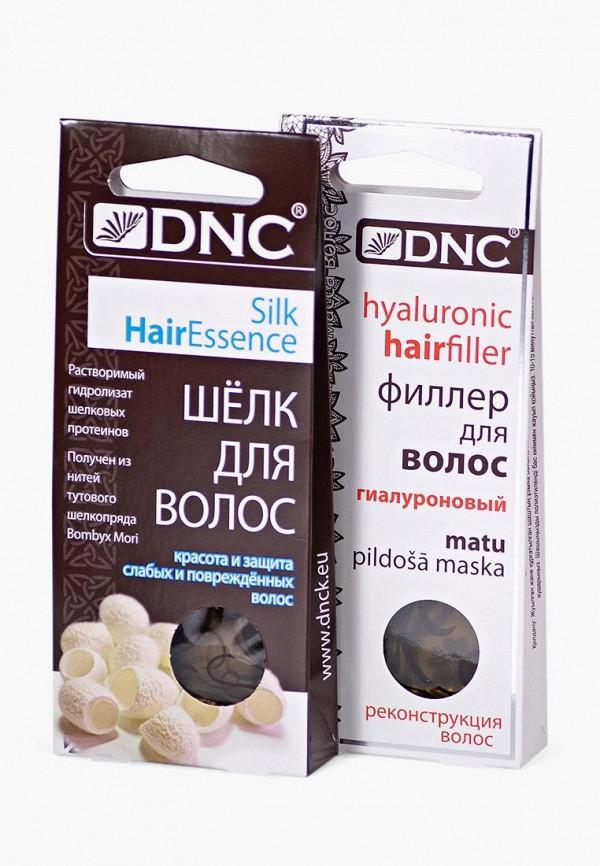 Купить Набор для ухода за волосами DNC, Филлер (3*15 мл) и ШЕЛК (4*10 мл), DN001LWTAX52, Весна-лето 2018