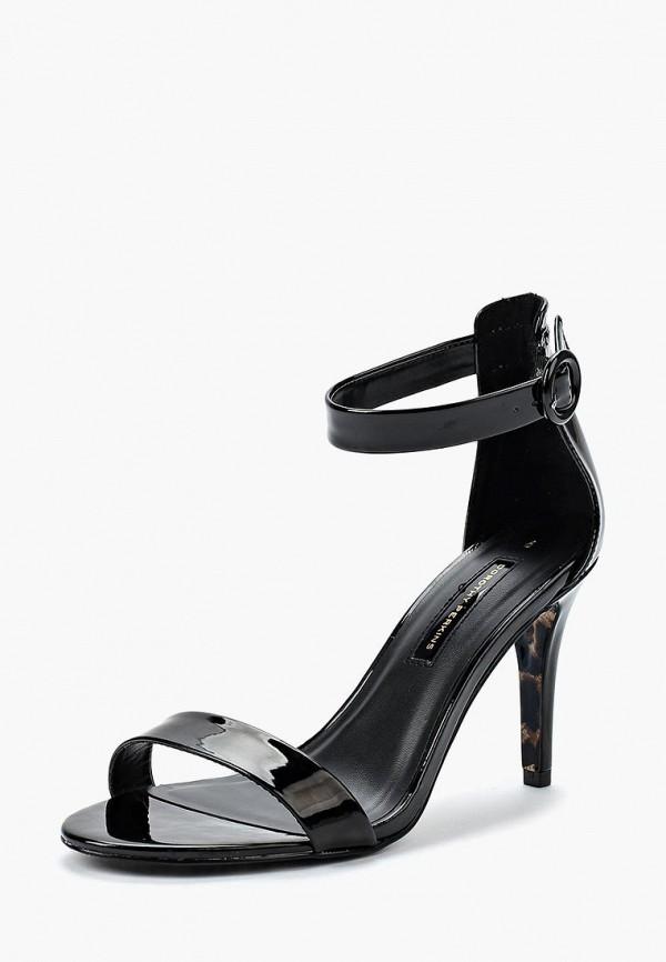 Фото - женские босоножки Dorothy Perkins черного цвета