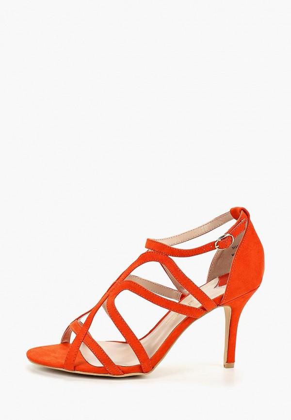 Фото 2 - женские босоножки Dorothy Perkins оранжевого цвета