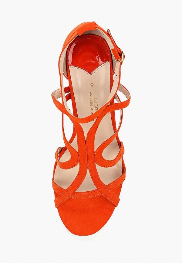 Фото 4 - женские босоножки Dorothy Perkins оранжевого цвета