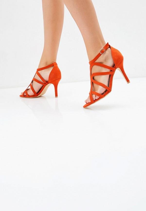 Фото 5 - женские босоножки Dorothy Perkins оранжевого цвета