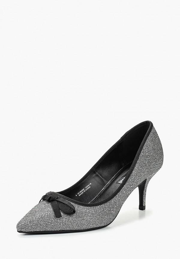 Купить Туфли Dorothy Perkins, DO005AWCERD3, серебряный, Осень-зима 2018/2019