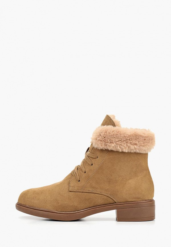 женские ботинки dorothy perkins, бежевые