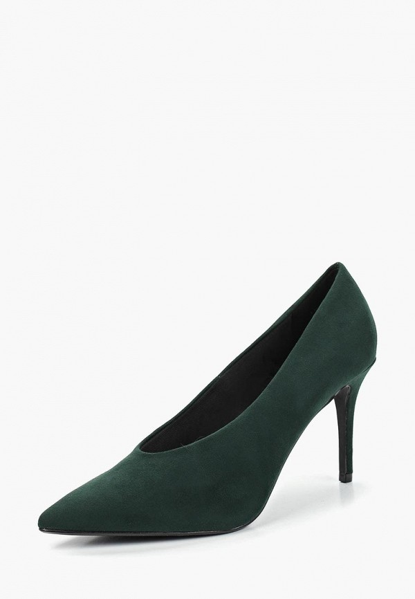 Фото 2 - женские туфли Dorothy Perkins зеленого цвета
