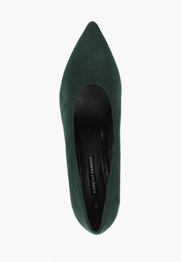 Фото 4 - женские туфли Dorothy Perkins зеленого цвета