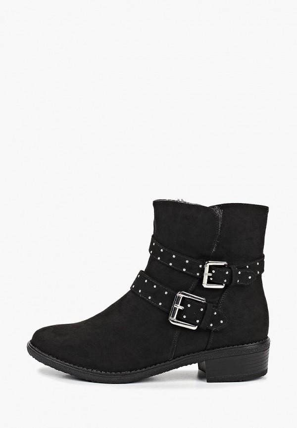 Фото 7 - женские ботинки и полуботинки Dorothy Perkins черного цвета