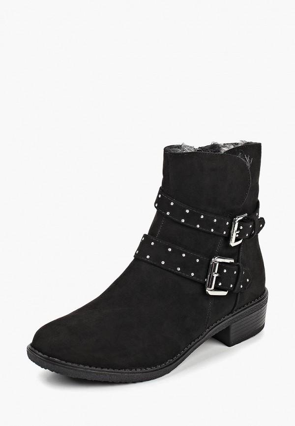 Фото 8 - женские ботинки и полуботинки Dorothy Perkins черного цвета