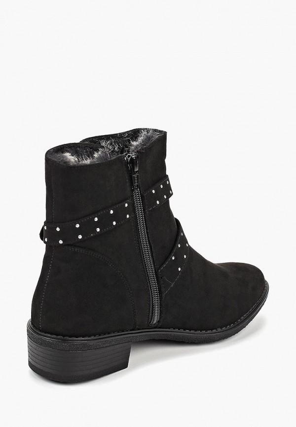 Фото 3 - женские ботинки и полуботинки Dorothy Perkins черного цвета