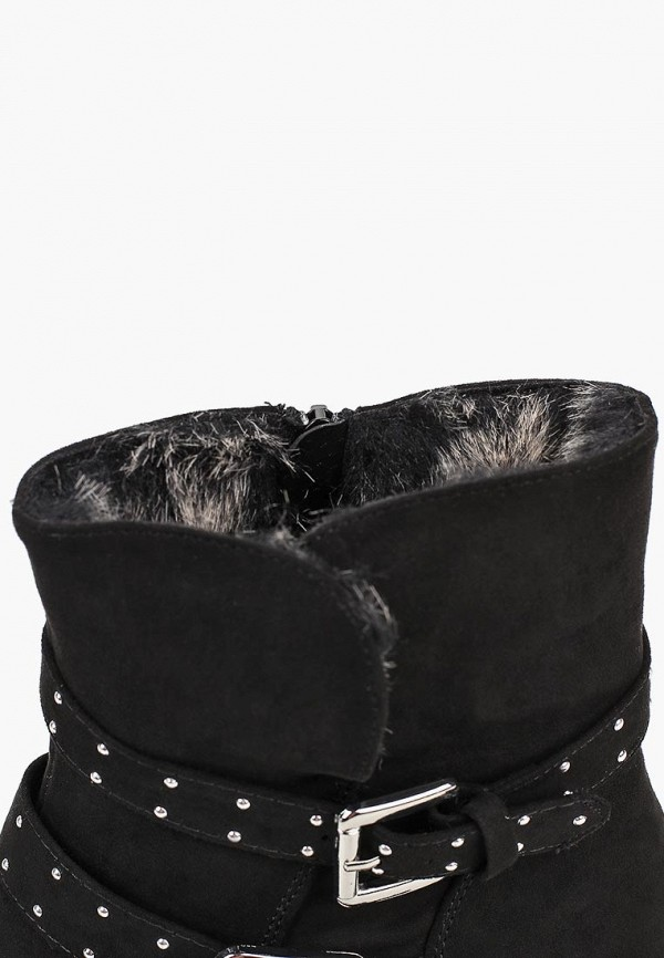 Фото 6 - женские ботинки и полуботинки Dorothy Perkins черного цвета