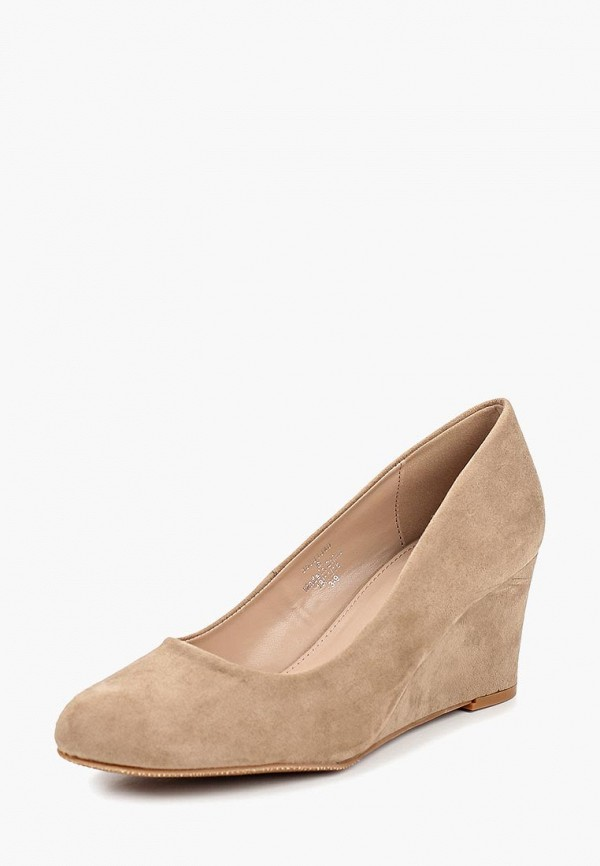 Фото 2 - женские туфли Dorothy Perkins бежевого цвета