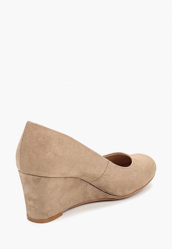 Фото 3 - женские туфли Dorothy Perkins бежевого цвета