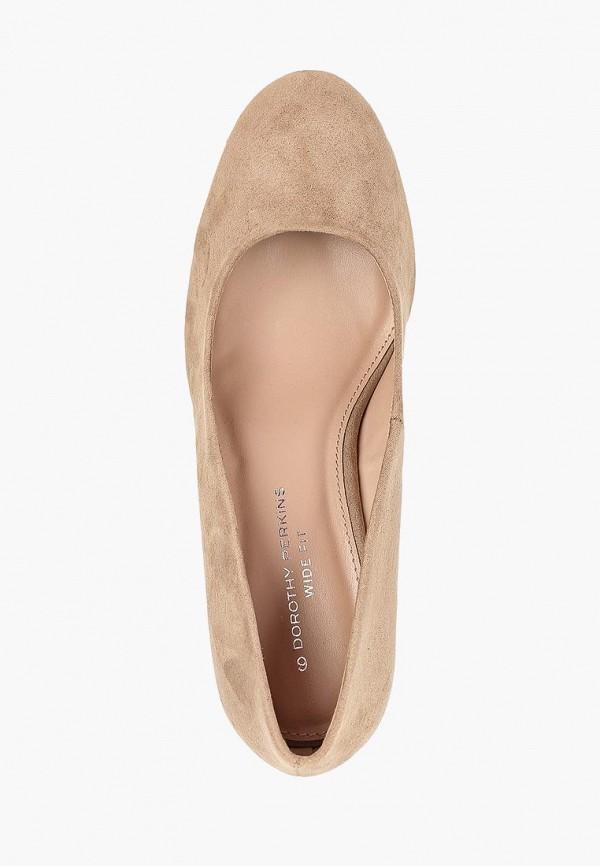 Фото 4 - женские туфли Dorothy Perkins бежевого цвета