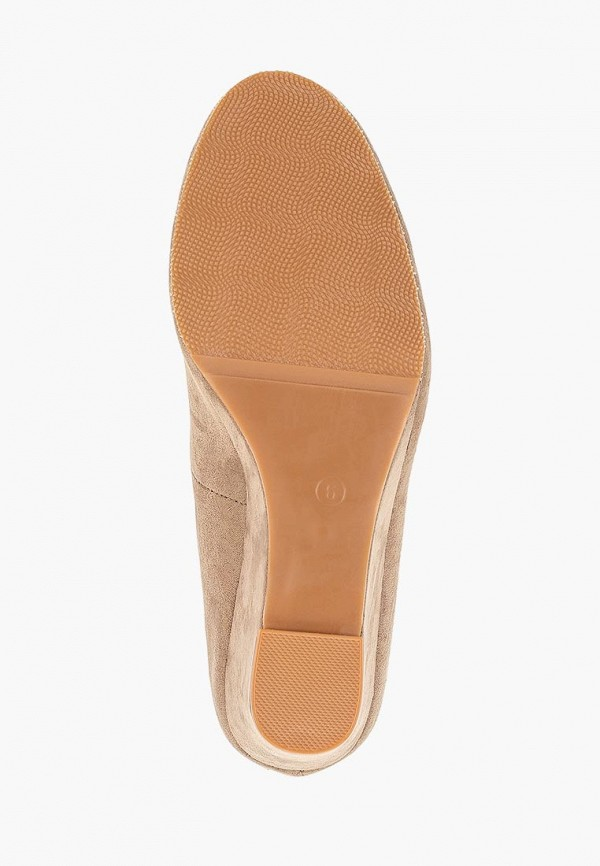 Фото 5 - женские туфли Dorothy Perkins бежевого цвета