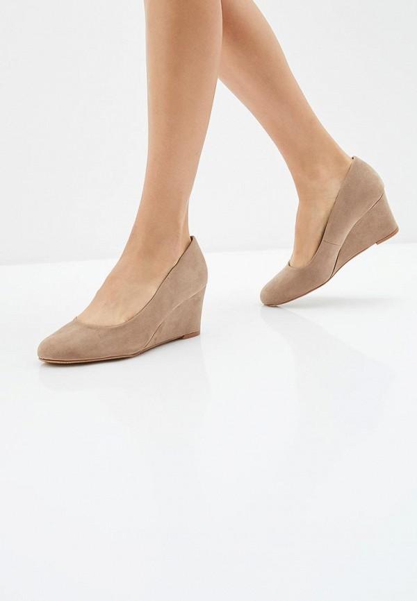 Фото 6 - женские туфли Dorothy Perkins бежевого цвета