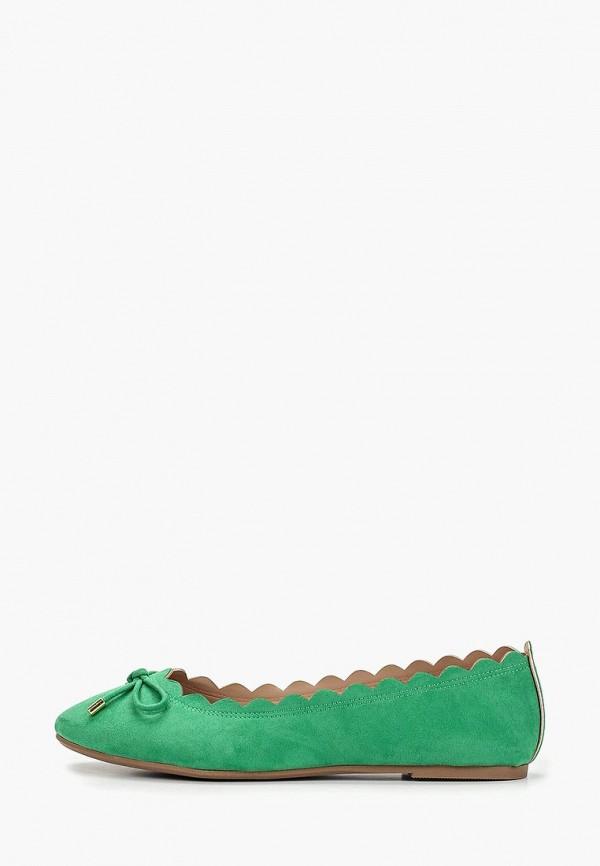 женские балетки dorothy perkins, зеленые