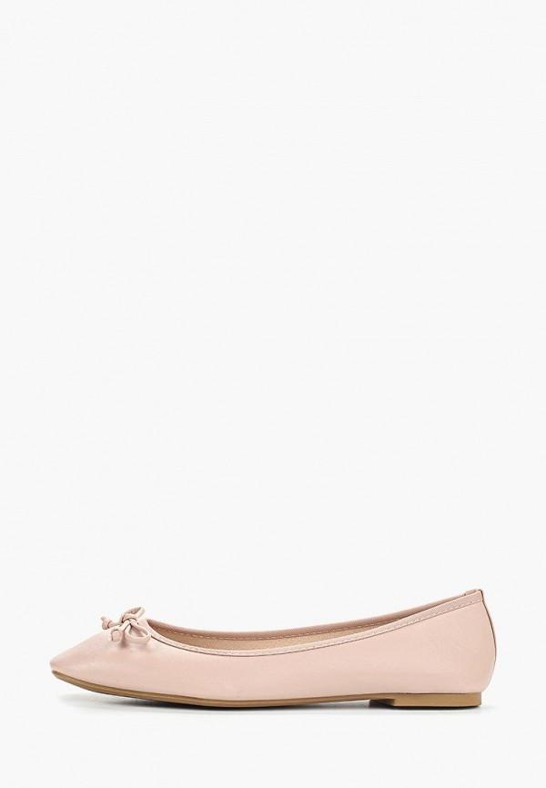 женские балетки dorothy perkins, розовые