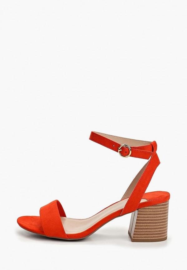 женские босоножки dorothy perkins, оранжевые