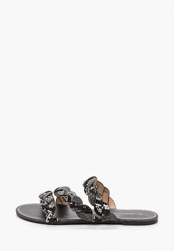 Фото - женские сабо Dorothy Perkins черного цвета