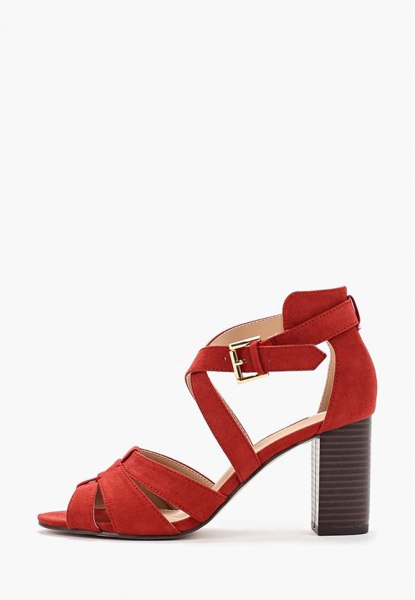 женские босоножки dorothy perkins, красные