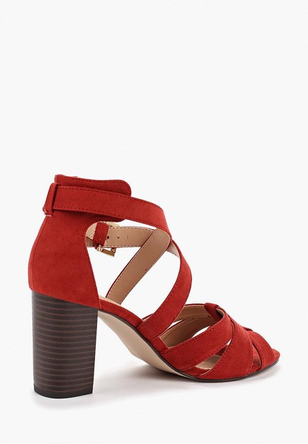 Фото 3 - женские босоножки Dorothy Perkins красного цвета