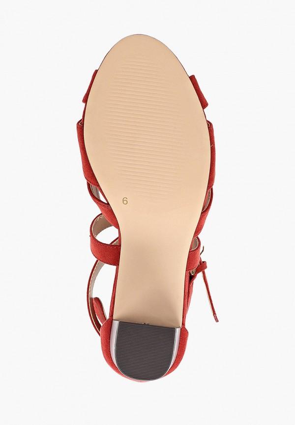 Фото 5 - женские босоножки Dorothy Perkins красного цвета