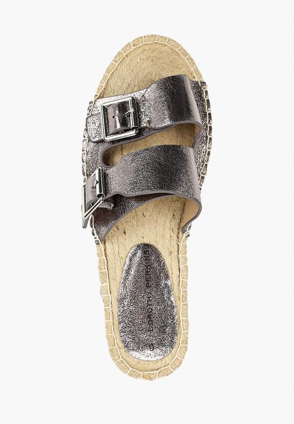 Фото 4 - женские сабо Dorothy Perkins серебрянного цвета