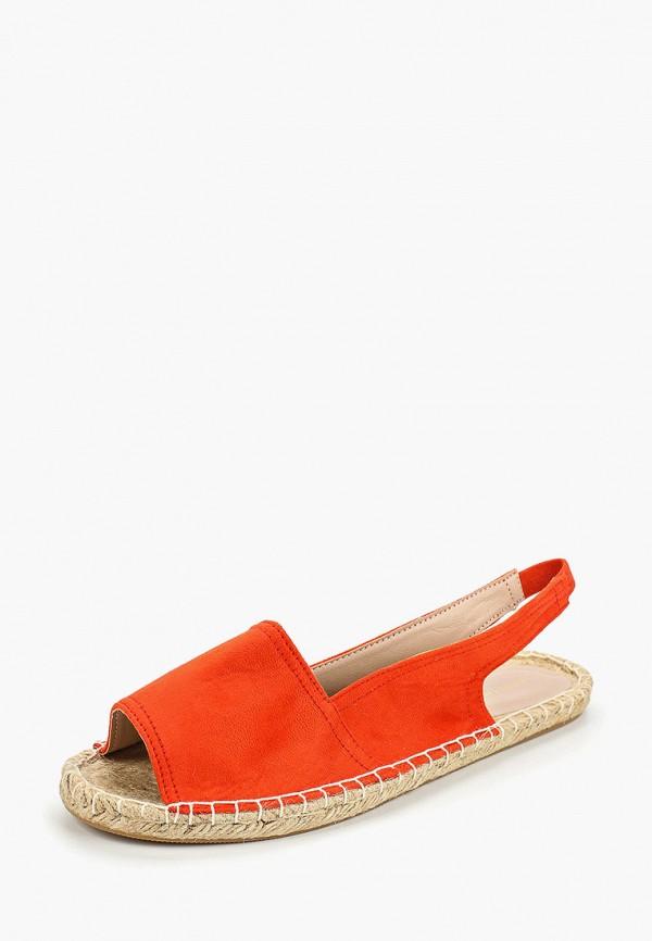 Фото 2 - женские сандали Dorothy Perkins оранжевого цвета