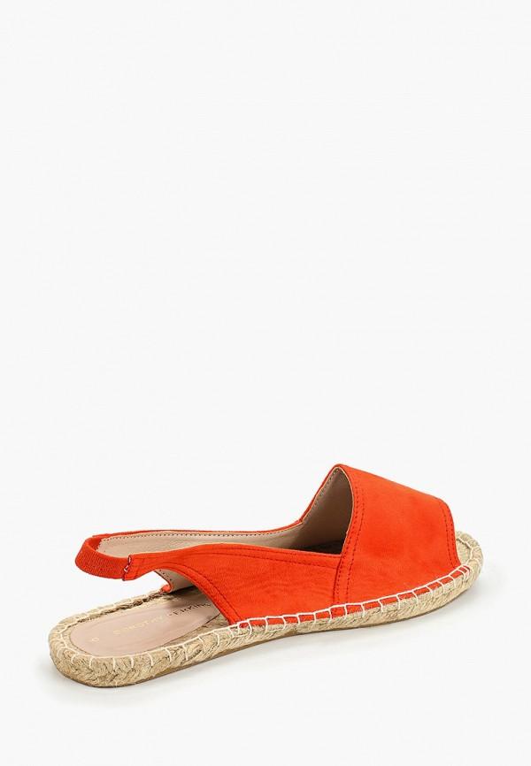 Фото 3 - женские сандали Dorothy Perkins оранжевого цвета
