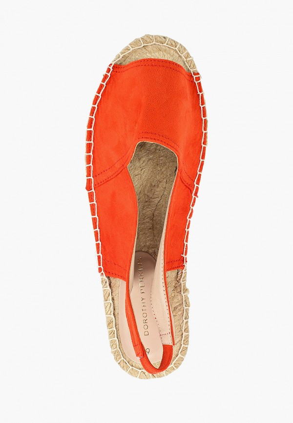 Фото 4 - женские сандали Dorothy Perkins оранжевого цвета