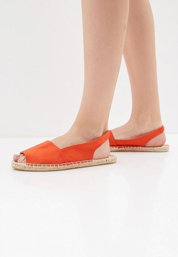 Фото 6 - женские сандали Dorothy Perkins оранжевого цвета