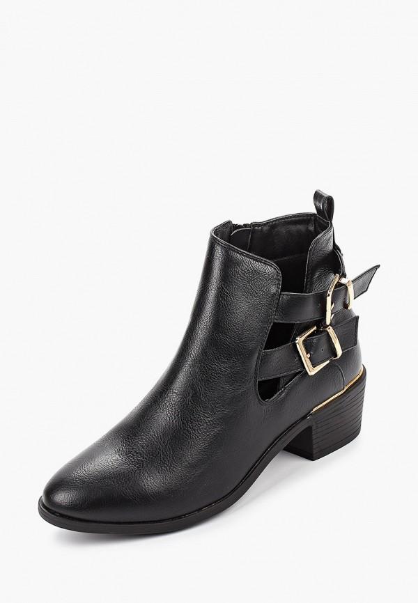 Фото 2 - женские ботинки и полуботинки Dorothy Perkins черного цвета
