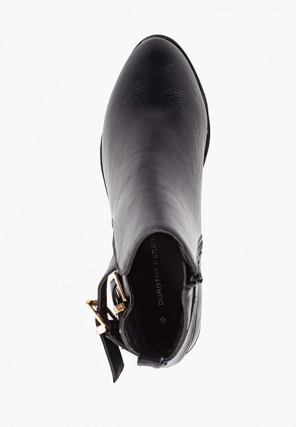 Фото 4 - женские ботинки и полуботинки Dorothy Perkins черного цвета