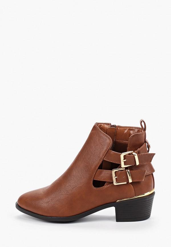 Фото - женские ботинки и полуботинки Dorothy Perkins коричневого цвета