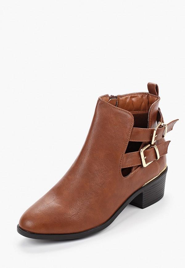 Фото 2 - женские ботинки и полуботинки Dorothy Perkins коричневого цвета