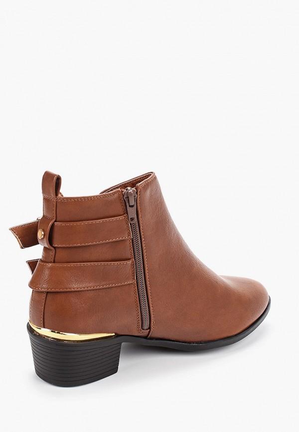 Фото 3 - женские ботинки и полуботинки Dorothy Perkins коричневого цвета