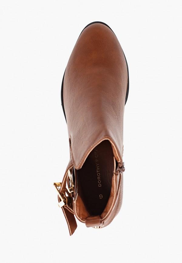 Фото 4 - женские ботинки и полуботинки Dorothy Perkins коричневого цвета