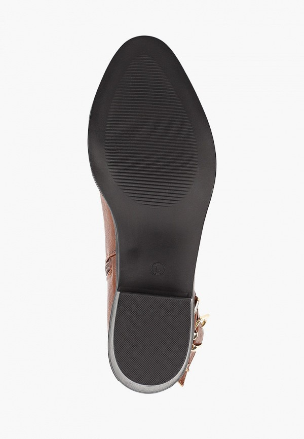 Фото 5 - женские ботинки и полуботинки Dorothy Perkins коричневого цвета