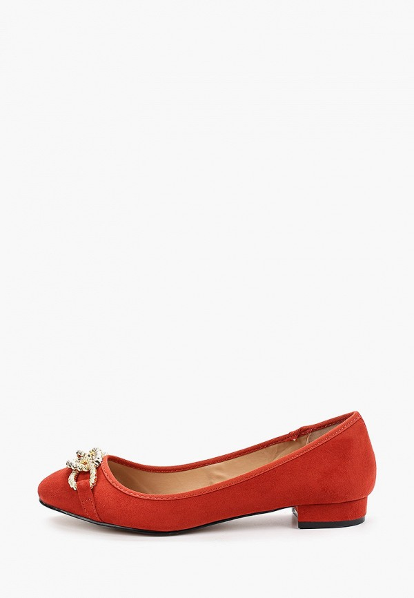 женские балетки dorothy perkins, красные
