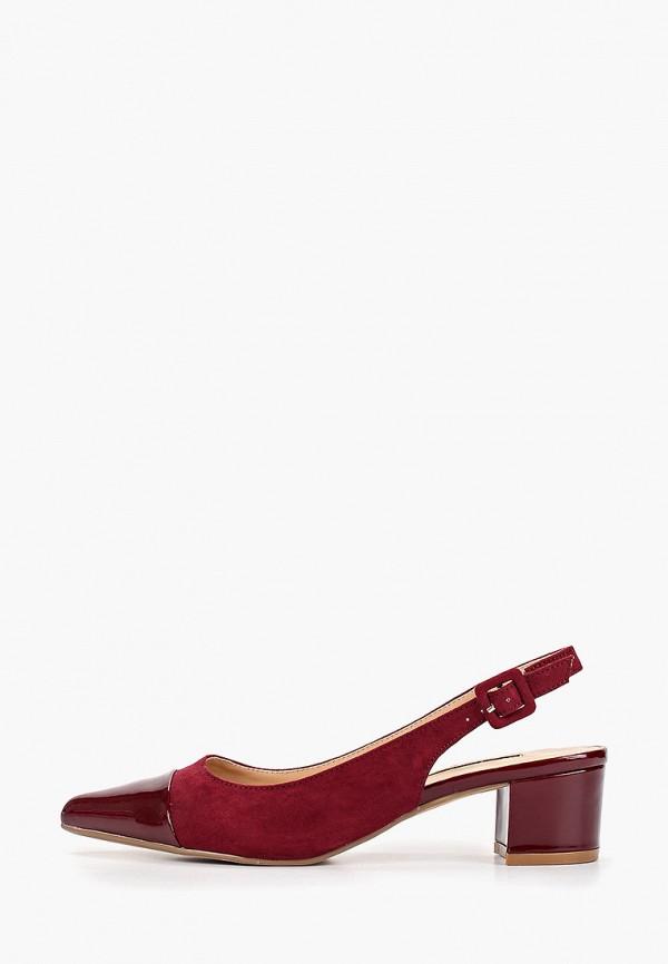 женские туфли dorothy perkins, бордовые