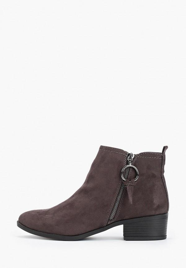 женские ботинки dorothy perkins, серые