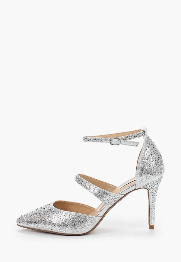 женские туфли dorothy perkins, серебряные