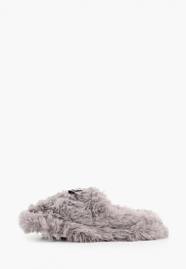 женские тапочки dorothy perkins, серые